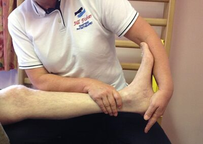 Specialist Bobath physiotherapy treatment to reduce spasticity and stiffness after a stroke