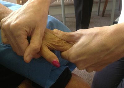 Specialist Bobath treatment to improve hand function and reduce spasticity after a stroke